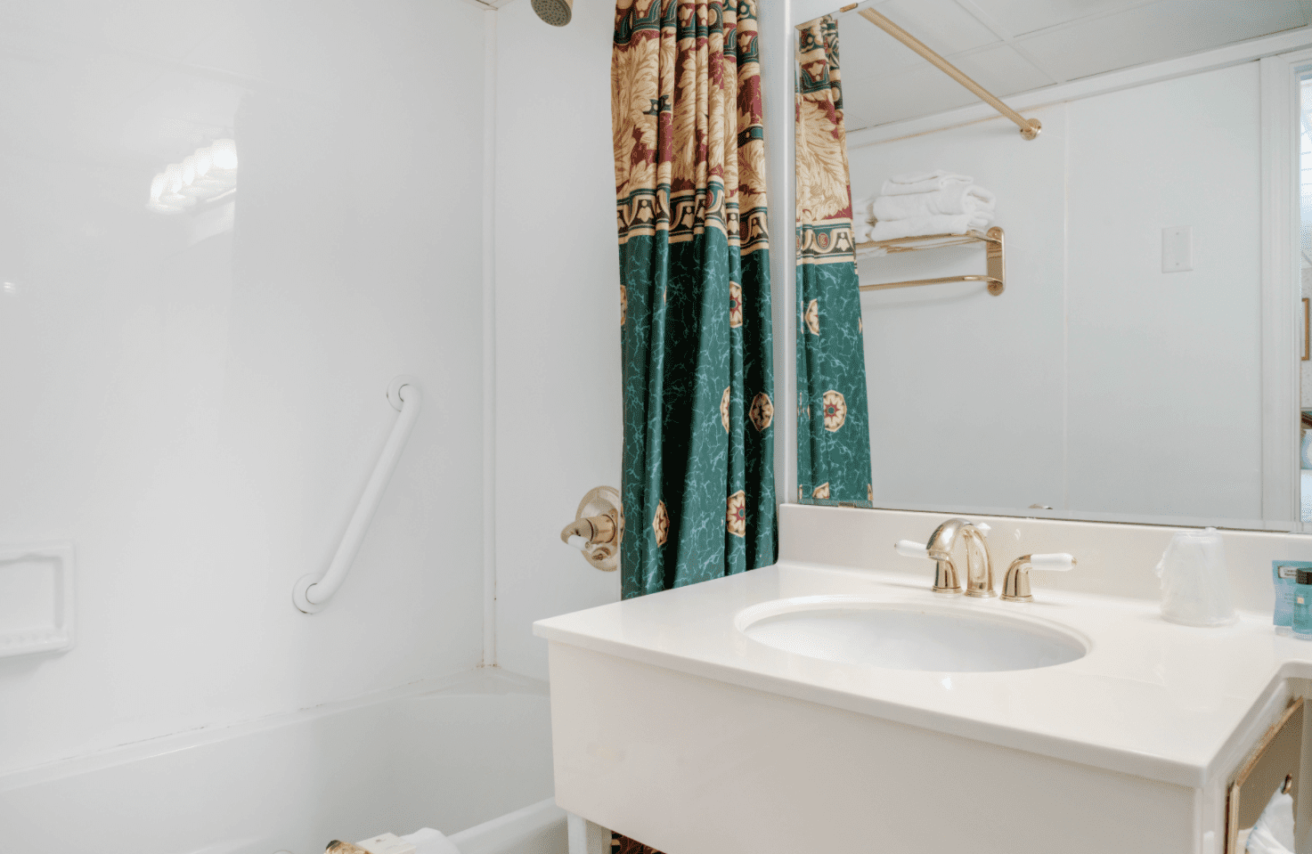 Bathrooms with Railings in Showers